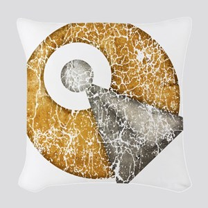 star-trek_idic-vintage Woven Throw Pillow