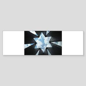 Jewish Star Sticker (Bumper)