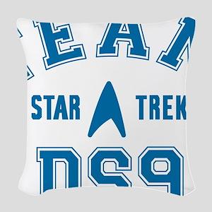 star-trek_team-ds9 Woven Throw Pillow