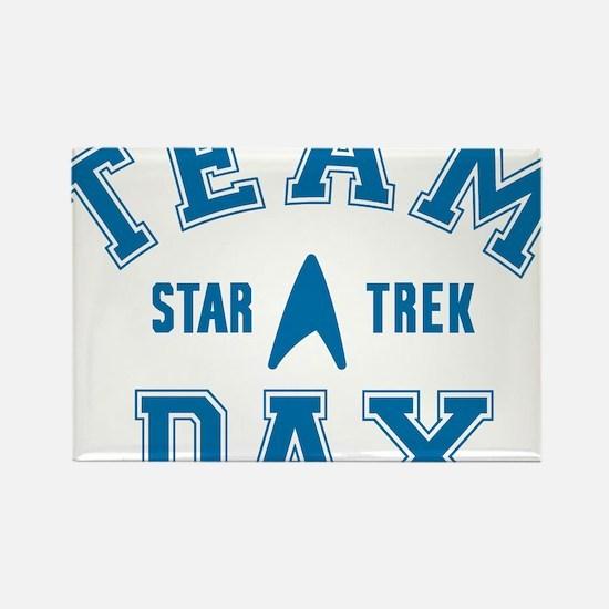 star-trek_team-dax Rectangle Magnet
