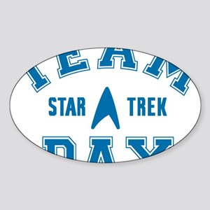 star-trek_team-dax Sticker (Oval)