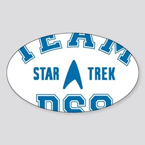 star-trek_team-ds9 Sticker (Oval)