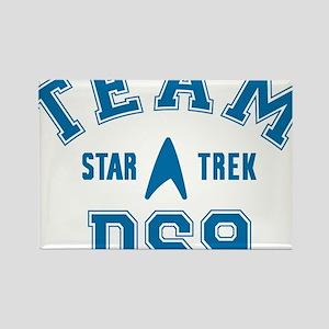 star-trek_team-ds9 Rectangle Magnet