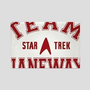 star-trek_team-janeway Rectangle Magnet