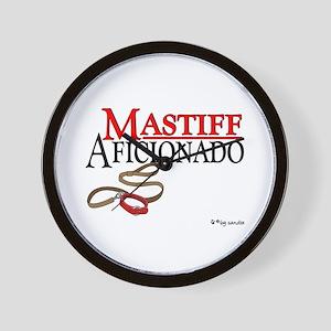 Mastiff Aficionado Wall Clock