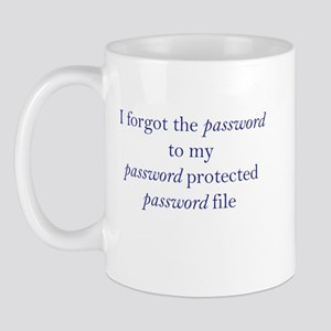 Forgot my Password Mug
