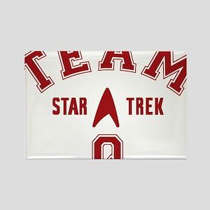 star-trek_team-q Rectangle Magnet