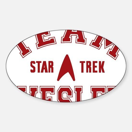 star-trek_team-wesley Sticker (Oval)