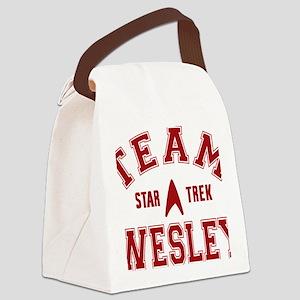 star-trek_team-wesley Canvas Lunch Bag