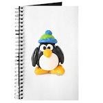 Clay Green Beanie Penguin Journal