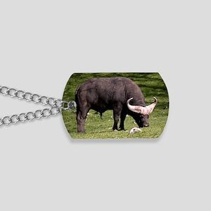 (10) Cape Buffalo Eating Dog Tags