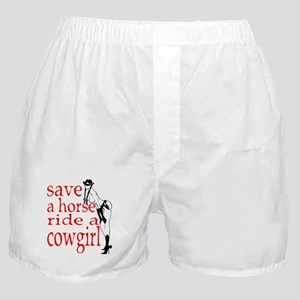 Save a horse Boxer Shorts