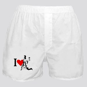 I heart Cowgirls Boxer Shorts