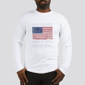 Undefeated World Long Sleeve T-Shirt