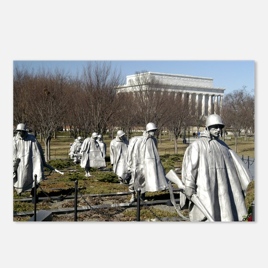 Korean War Memorial Postcards (Package of 8)