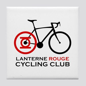 Lanterne Rouge Cycling Club Tile Coaster