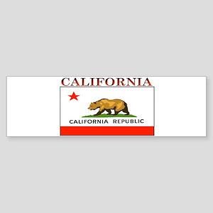 California State Flag Bumper Sticker