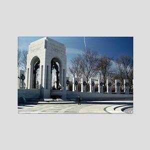 World War II Memorial Rectangle Magnet