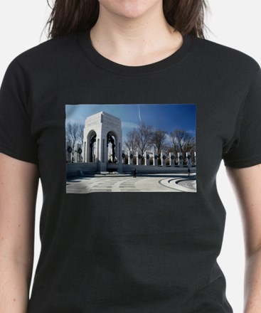 World War II Memorial Women's Dark T-Shirt