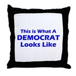 Democratic Throw Pillow