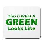 Green Mousepad