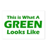 Green Postcards (Package of 8)