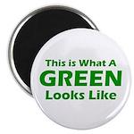"Green 2.25"" Magnet (100 pack)"