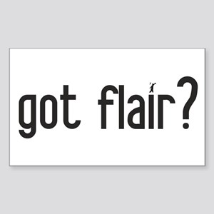 got flair? Rectangle Sticker