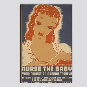 ART mini poster Nurse the Postcards (Package of 8)