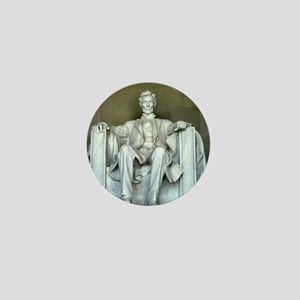 Lincoln Memorial Mini Button