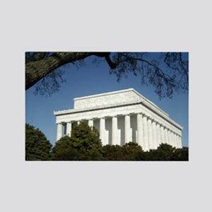 Lincoln Memorial Rectangle Magnet