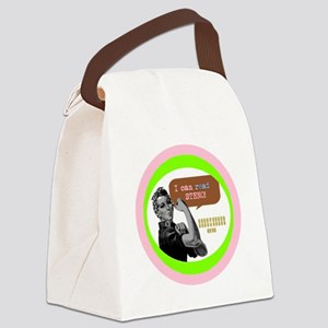 I can do it Canvas Lunch Bag