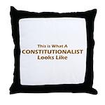 Constitutionalist Throw Pillow