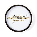 Constitutionalist Wall Clock