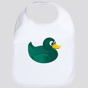 Green Rubber Duck Bib
