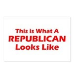 Republican Postcards (Package of 8)
