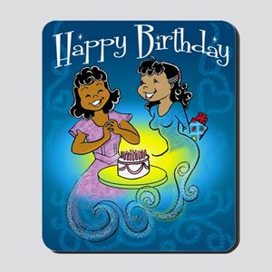 sisters birthday copy Mousepad