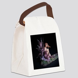 Fairy Butterfly Wings Seated crop Canvas Lunch Bag