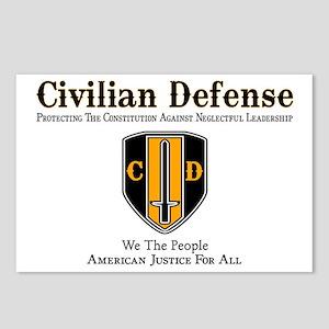 Civilian Defense Postcards (Package of 8)