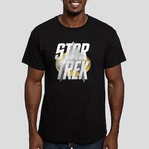 star-trek-logo-for-dar Men's Fitted T-Shirt (dark)