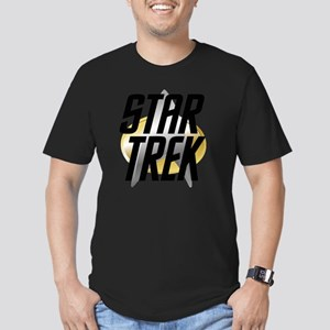 STAR-TREK-LOGO Men's Fitted T-Shirt (dark)