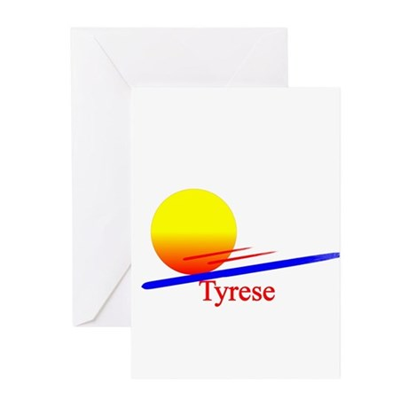 Tyrese Greeting Cards (Pk of 10)
