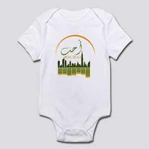 I Love Dubai Infant Bodysuit