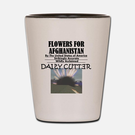flowers-for-afghanistan Shot Glass