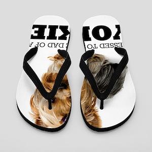 blessedyorkiedad Flip Flops