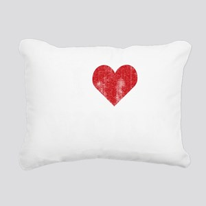 heartworf2 Rectangular Canvas Pillow