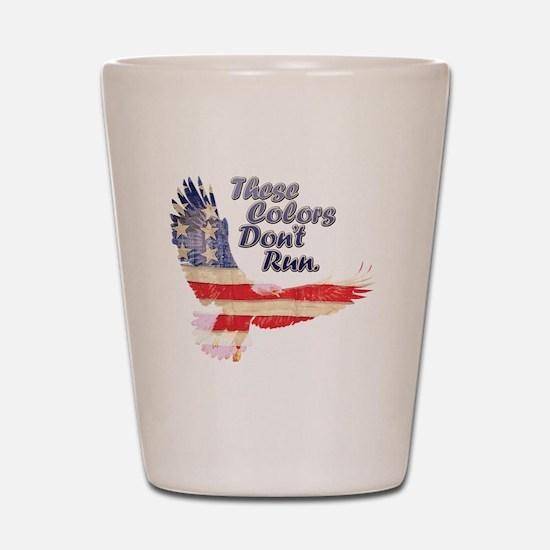 Eagle flag Shot Glass