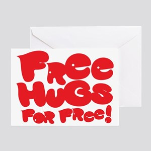 hugs Greeting Card