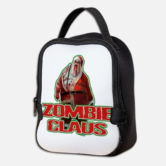 Santa FACE Neoprene Lunch Bag