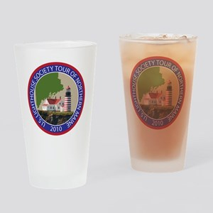 Maine patch Drinking Glass
